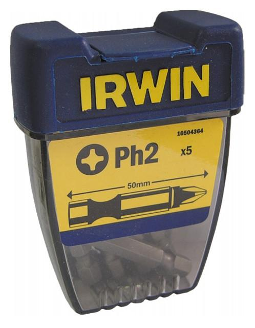 "Irwin Bithegy PH2 1/4"" 50mm 5db/CS"